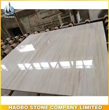 Cut to Size Eurasian Wood Grain Marble Tile Polished Wholesale Flooring Tiles Own Factory Direct Selling Slab Bathroom Backsplash Walling Panel