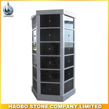Hot Sale China Granite 60 Niches Cremation Columbarium for Cemetery