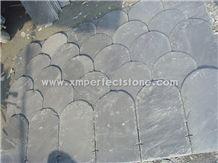 6-8mm Thickness Roof Slate Tiles,Cheap Slate Roof Tiles,Irregular Shaped Slate Tile for Roof Slate Price