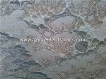 Landscape Painting Onyx Slab for Wall Covering,Landscaping Scenery Slab,Landscaping Grey Onyx Slab,Landscape White Painting Onyx Slab