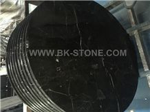 Chinese Saint Laurent Brown Marble Table Top Kitchen Countertop,Marble Base Marble Worktop