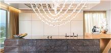 Breccia Imperiale Brazil Exotic Quartzite Kitchen Counter Top