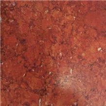Red Fossil Marble Slabs Tiles Iran