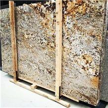 Carolina Summer Granite Slab & Yellow Granite Slab for Countertop