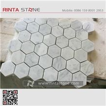 Ariston Marble Hexagon Mosaic