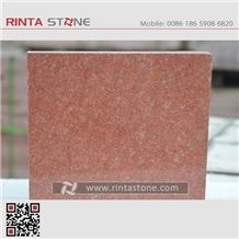 Asia Red Granite China Natural Colour No Dyed / No Painted Dark Red Stone