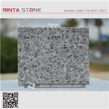 G362 Wulian Flower Granite Shandong Laizhou Grey Stone Slabs Tiles