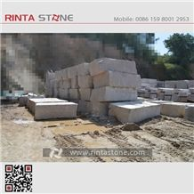 Marry Red Granite New Rosa Spring Natural Beige / Buff Stone Blocks Quarry