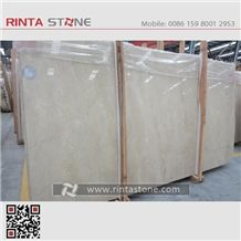 New Cream Marfil Marble Natrual Beige Buff Colour Stone Gangsaw Slabs Tiles
