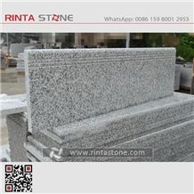Rosa Beta G623 Granite Cheaper Gray Crystal Grey Stairs Riser Steps