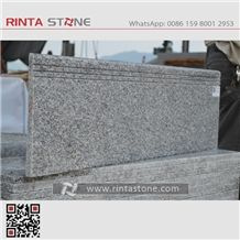 Rosa Beta G623 Granite China Grey Lower Price Gray Stone Steps Risers Staris