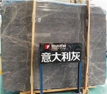 Manufacturer China Good Floor Tile Price Italian Royal Silver Grey Marble