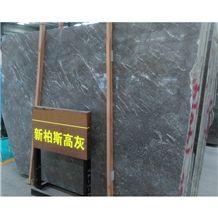 New Fiore De Pesco Spanish Floor Tile Big Slab Stone Form Royal Grey Marble
