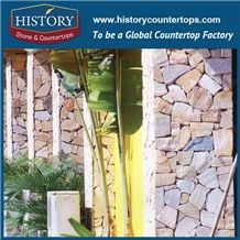 Historystone Wholesale Paving Stones Slate Flagstone Wall Pattern Cutting to Tiles