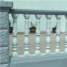 Hot Sale Villa Marble Landscaping Stone Granite Stair Handrail