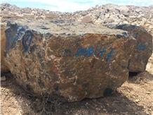 Natural Sahara Noir/Noir Aziza/Golden Black/Noir Serpents Blocks,Used for Interior & Exterior Building Stone, Wall Cladding&Floor Covering Material