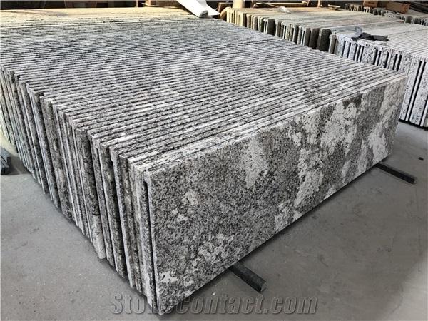 Merveilleux Brazil White Torronico Prefab Granite Countertops Laminated Flat Edge