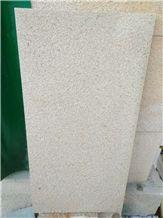 Cheap Price Baipo Yellow Bush Hammered Granite Tiles