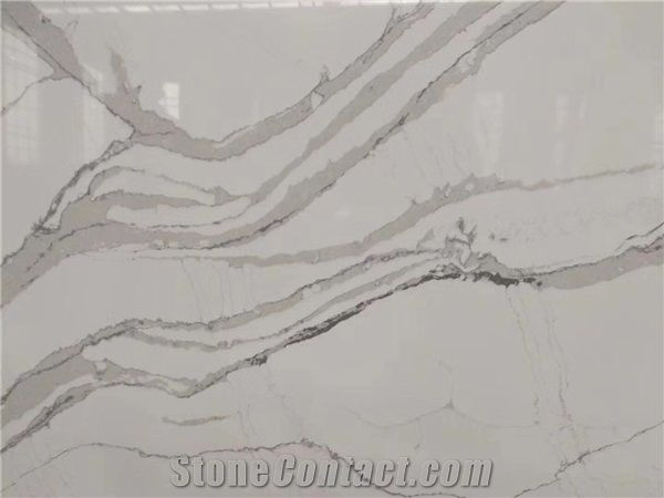Manufacture Directly New White Quartz Slabs For Countertops From