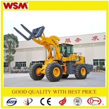 Multifunctional Small Wheel Loader 18 Ton Forklift 4x4 Drive