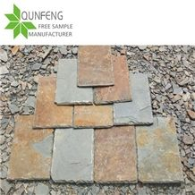 High Quality Rusty Ash Slate Roofing,Split Surface Roofing Tiles for Covering
