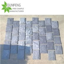 Xingzi Popular Black Slate Mushroom Cultured Stone for Wall