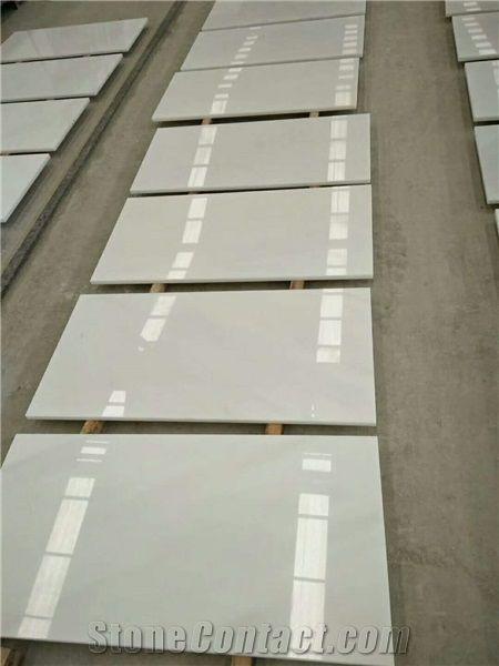China Pure White MarbleFloor Covering SkirtingWhite Marble Tile Slab