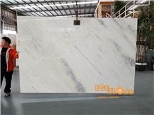 China Light Jade Hibiscus White Marble Bookmatch Slabs Tiles