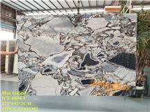 China Ocean Blue Black Polished Marble Tiles & Slabs/Chinese Grey/Mystery Galaxy Beauty/Cheap Price/Quantity/Floor Wall Covering