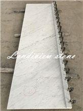 Bianco Carrara Marble Kitchen Tops