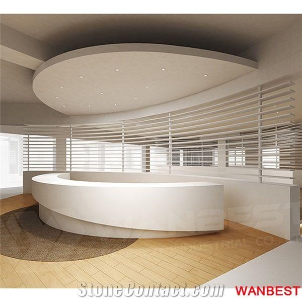 Marble Hotel Company Lobby Hall Round