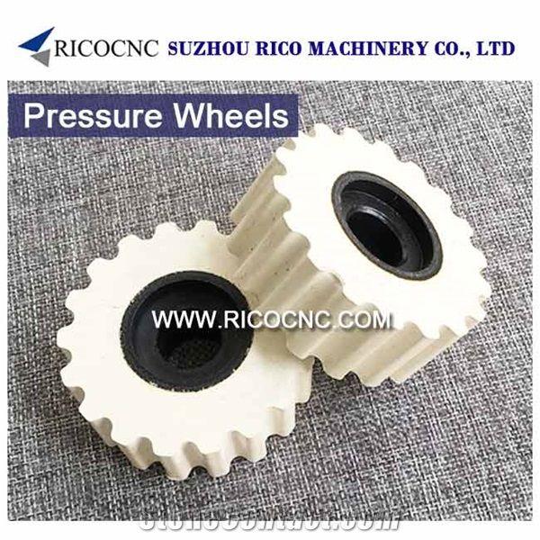 Homag Pressure Wheels, Rubberized Hold Down, Scm Pressure