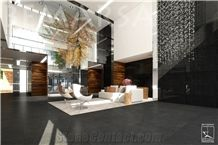 Infinity Black Marble Slabs & Tiles