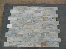 China Multicolor Slate Cultured Stone,Wall Cladding and Flooring Tiles,Natural Stone Veneer,Indoor and Outdoor Decoration,Wholesale Price