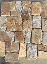 Castle Villa Stone for Courtyard Road Pavers Walkway Pavers Floor Covering Garden Stepping Pavements