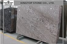 Polished Natural Stone Brazil Silver Fox Aran White Granite Slab