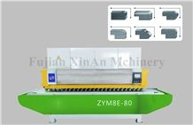 Automatic Granite and Marble Slab Polishing Line-Wanlong Granite Slab Polishing Machine