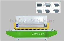 Automatic Granite and Marble Slab Polishing Line-Wanlong Granite Slab Polishing Machine