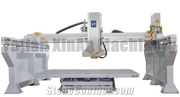 Infrared Fully Automatic Bridge Type Edge Cutting Machine Good Guidance Quality And Ility Suitable For Granite Marble Slab