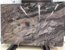Abrabescato Orobico Grigio Marble Slabs&Tiles, Venice Brown/Italy Brown/Italy Gray/Multicolor Marble Decoration Stone/Book Match/Paving Pattern/Jumbo