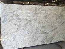 Blanco Romano Granite Slabs&Tiles, Rome White/Brazil White/Bianca Romano Granite Stone Slabs for Kitchen Counter Tops/Bathroom Vanity Tops/Wall Covering Tiles
