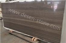 Coffee Wenger Wooden Vein Purple/Coffee Grain Marble Stone Slabs&Tiles