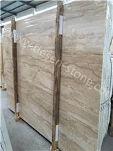 Daino Beige Marble Slabs&Tiles, Dino Beige/Dino Wooden/Turkish Daino Reale/Diao Marble Stone Wall Cladding/Bookmatching/Cut to Size for Kitchen Countertop