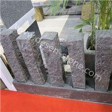 G654 Black Granite Palisades/Pillars/Kerbstone/Curbstone