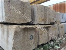 G682 Sunset Gold Granite Stone Blocks&Slabs&Tiles, Rusty Yellow/Golden Sand/Yellow Fantasy/Padang Yellow/Ming Gold/Giallo Ming Granite Stone Block
