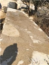 G682 Sunset Golden Rusty Yellow Granite Stone Blocks