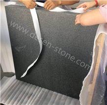 India Black Granite Stone Slabs&Tiles, Absolute Black Granite Premium/Pure Black/Black Beauty Granite Stone Flooring/Wall Covering Tiles