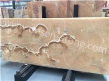 Orange Onyx Stone Slabs&Tiles Floor/Wall Covering/Background/Skirtings