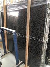 Three Gorges Black Oracle Bone Turtle Vento Marble Stone Slabs&Tiles