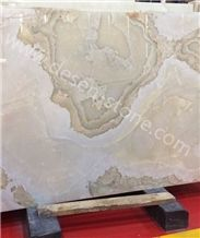 White Onyx Stone Slabs&Tiles Floor/Wall Covering/Background/Pattern